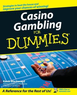 casino gambling for dummies pdf