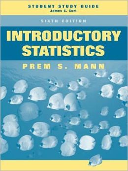 Introductory Statistics, Student Study Guide