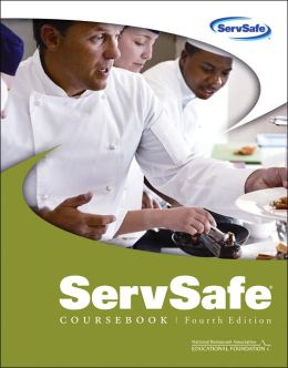 ServSafe Coursebook, with the Certification Exam Answer Sheet
