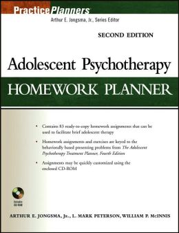 Adolescent Therapy Homework Planner