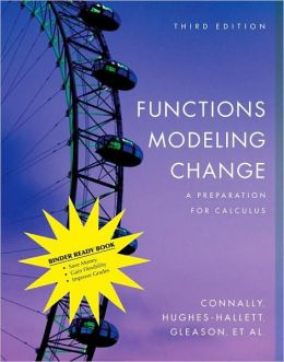 Functions Modeling Change, Binder Ready Version: A Preparation for Calculus