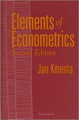 Elements of Econometrics: Second Edition
