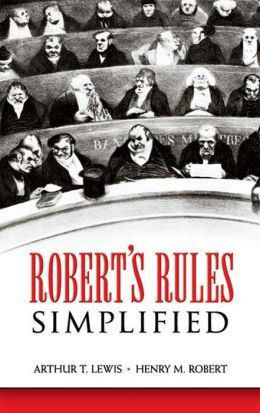 Robert's Rules Simplified