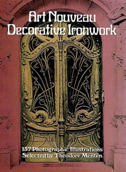 Art Nouveau Decorative Ironwork