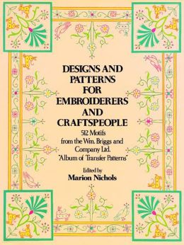 Designs and Patterns for Embroiderers and Craftspeople