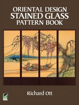 Oriental Design Stained Glass Pattern Book