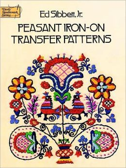 Peasant Iron-on Transfer Patterns