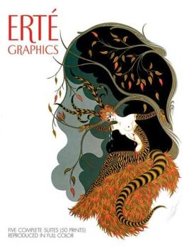 Erte Graphics - Five Complete Suites Reproduced in Full Color