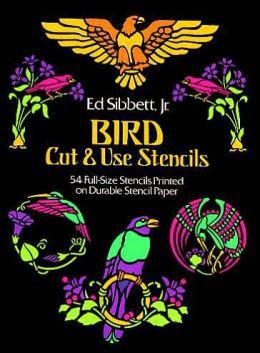 Bird Cut & Use Stencils