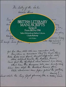British Literary Manuscripts