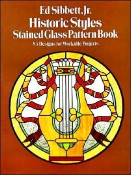 Historic Styles Stained Glass Pattern Book