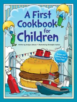 A First Cookbook for Children: With Illustrations to Color