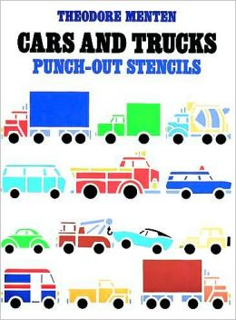 Cars and Trucks Punch-Out Stencils