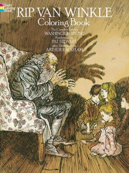 Rip Van Winkle Coloring Book