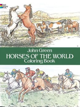 Horses of the World Coloring Book (Dover Pictorial Archive Series)