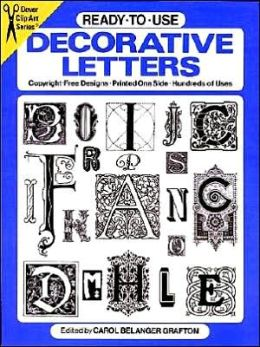 Ready-to-Use Decorative Letters
