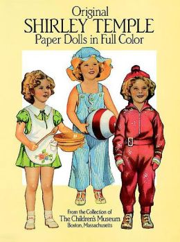 Original Shirley Temple Paper Dolls in Full Color