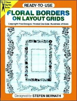 Ready-to-Use: Floral Borders on Layout Grids
