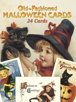 Old-Fashioned Halloween Postcards: 24 Full-Color Ready-to-Mail Cards