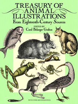 Treasury of Animal Illustrations from Eighteenth-Century Sources