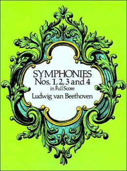 Symphonies Nos. 1, 2, 3, and 4: in Full Score: (Sheet Music)