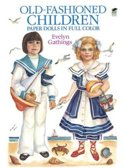 Old-Fashioned Children Paper Dolls in Full Color
