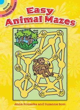 Easy Animal Mazes