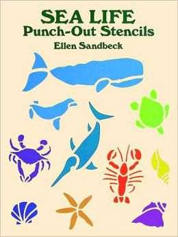 Sea Life Punch-out Stencils