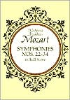 Symphonies Nos. 22-34: in Full Score: (Sheet Music)