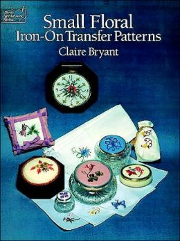 Small Floral Iron-on Transfer Patterns