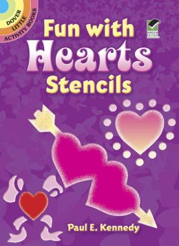 Fun with Hearts Stencils