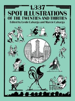 1,337 Spot Illustrations of the Twenties and Thirties