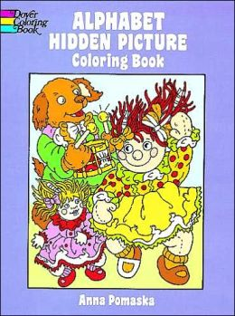 Alphabet Hidden Picture Coloring Book