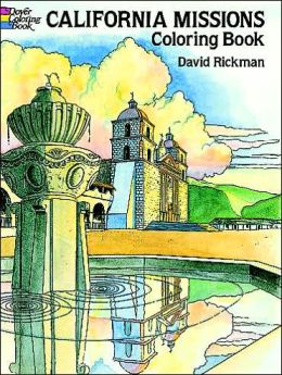 California Missions Coloring Book