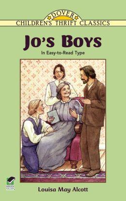 Jo's Boys: In Easy-to-Read Type