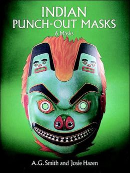 Indian Punch-Out Masks: Six Masks