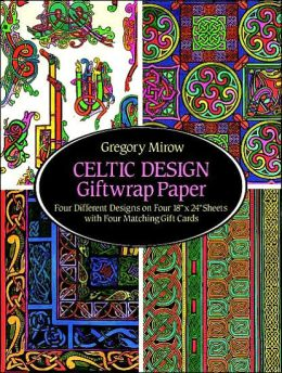 Celtic Design Giftwrap Paper