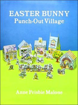 Easter Bunny Punch-Out Village