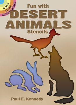 Fun with Desert Animals Stencils
