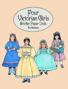 Four Victorian Girls