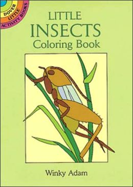 Little Insects Coloring Book