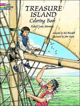 Treasure Island Coloring Book