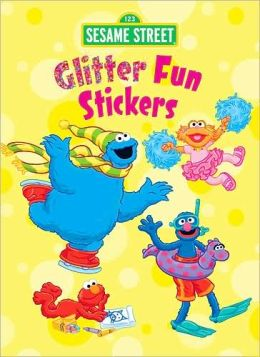 Sesame Street Glitter Fun Stickers