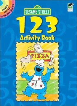 Sesame Street 123 Activity Book