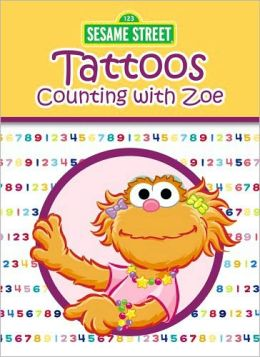 Sesame Street Counting with Zoe Tattoos