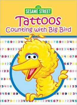Sesame Street Counting with Big Bird Tattoos