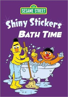 Sesame Street Shiny Bath Time Stickers