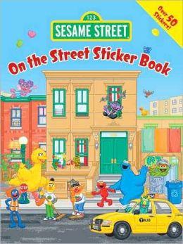 Sesame Street On the Street Super Sticker Book