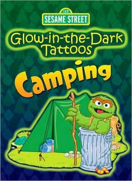 Sesame Street Glow-in-the-Dark Tattoos Camping