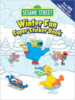 Sesame Street Winter Fun Super Sticker Book